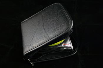 Black CD bag