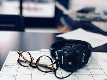 Black Marshall Headphones