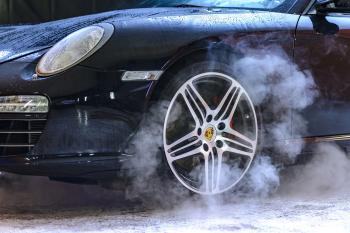 Black Sporty Porsche