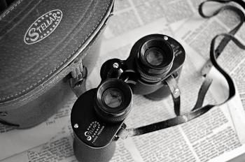 Black Stelar Binocular With Bag
