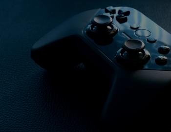 Black Video Game Controller
