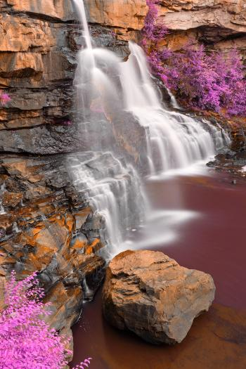 Blackwater Profile Falls - Rusty Purple Fantasy