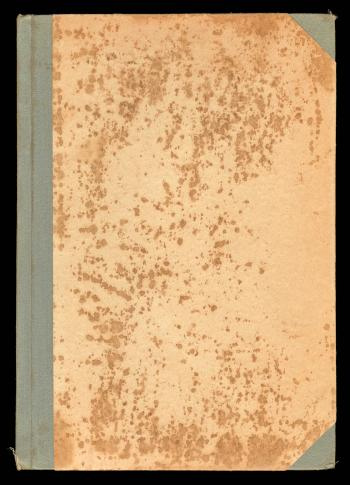 Blank Antique Book Cover