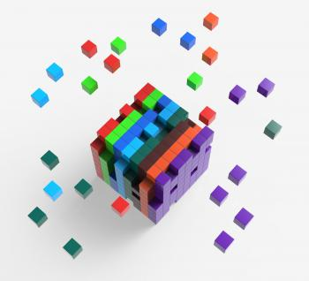 Blocks scattered Showing Action And Solutions
