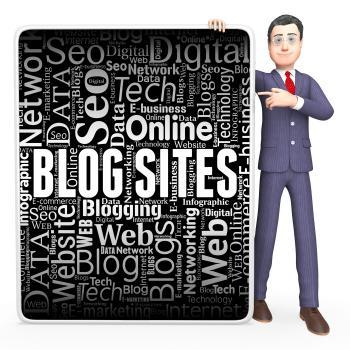 Blog Sites Shows Board Online And Website