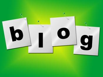 Blog World Indicates Site Earth And Websites