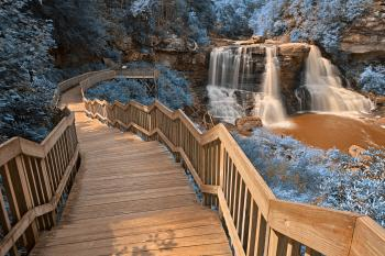 Blue Blackwater Falls - HDR