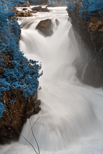 Blue Dorwin Falls - HDR