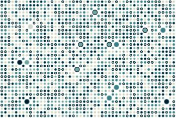 Blue dot pattern