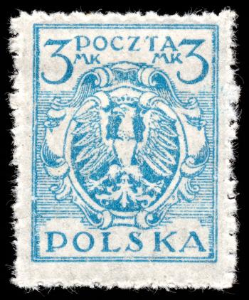 Blue Eagle Crest Stamp