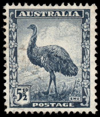 Blue Emu Stamp