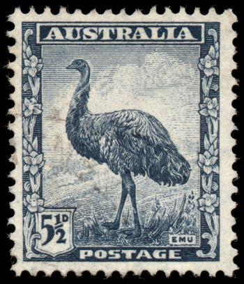 Blue Emu Stamp