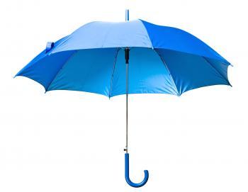 Blue Open Umbrella