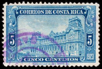 Blue Post Building Stamp