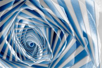 Blue Rose Spiral