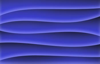 Blue waves wallpaper