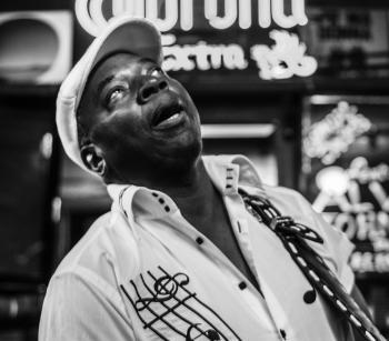 Bluesman Alvon Johnson