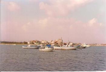 Boats in Sicily
