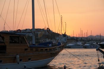 Bodrum yacht marina