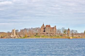 Boldt Castle Coast - HDR