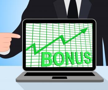 Bonus Chart Graph Displays Increase Reward Or Perk