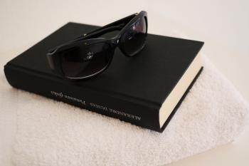 Book and Shades