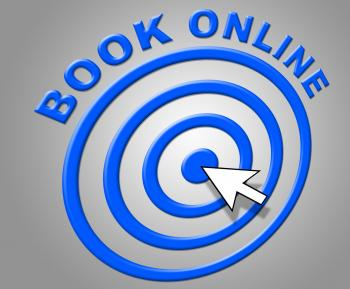 Book Online Represents World Wide Web And Booked