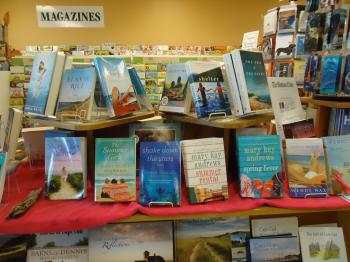 Books display table