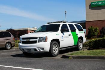 Border Patrol Supervisor Chevrolet Tahoe