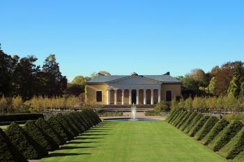 Botanic garden in Uppsala