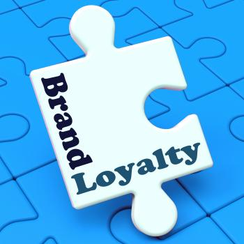Brand Loyalty Shows Customer Confidence Preferred Brand name
