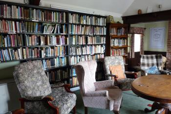 Braziers Park House - library (4)