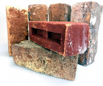 Bricks close up