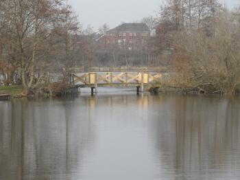 Bridge at lakeside