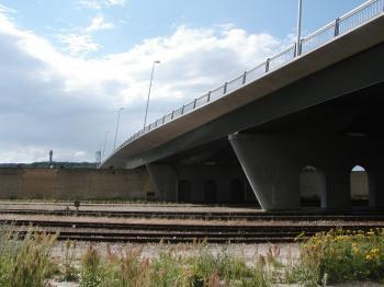 Bridge in Aalborg, Denmark