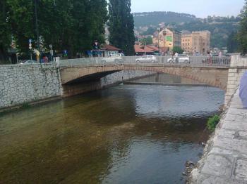 Bridge in Sarajevo