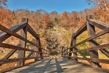 Bridge to Fall - Harpers Ferry HDR