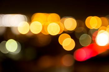 Bright Bokeh Background