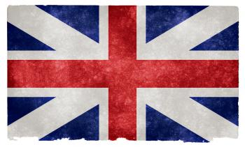British Union Grunge Flag