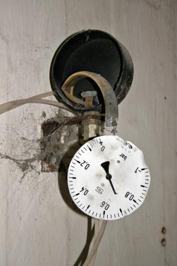 Broken meter