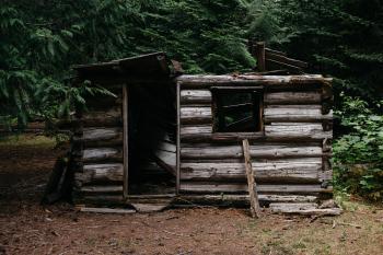 Broken Wooden House