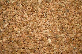 Brown cork mat