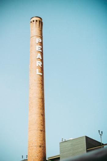 Brown Pearl Printed Tower