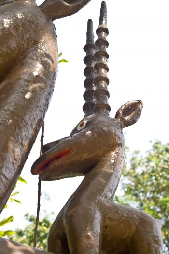 Brown Statue