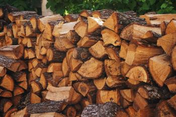 Brown Wooden Firewood