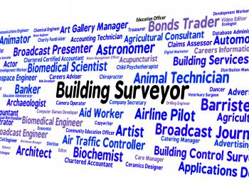 Building Surveyor Indicates Position Occupations And Hire