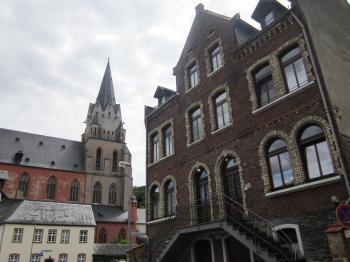 Buildings in Oberwesel, Germany