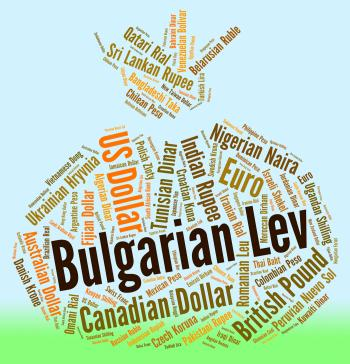 Bulgarian Lev Represents Foreign Exchange And Bgn