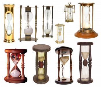 Bunch of Hourglasses