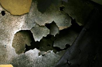 Burned materials